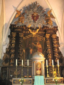 retable central corravillers